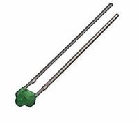 LED 1,8mm groen  Zakje 10 stuks