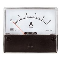 Analoge Paneelmeter 0 - 5A DC