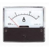 Analoge Paneelmeter 0 - 15A DC