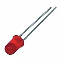 Knipper LED 5mm rood  Zakje 10 stuks