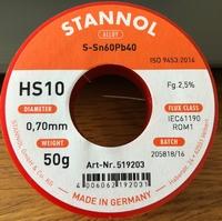 Soldeertin rol 0,7mm  50 g