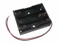 Batterijhouder 3x mini penlight (AAA)