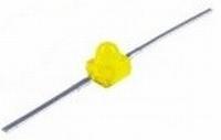 LED 1,9mm Axiaal geel  Zakje 6 stuks