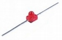 LED 1,9mm Axiaal rood  Zakje 6 stuks