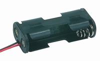 Batterijhouder 2x penlight (AA) zij-invoer
