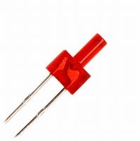 LED 2mm rood  Zakje 10 stuks